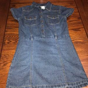 Girl's Old Navy Denim Dress Size 10